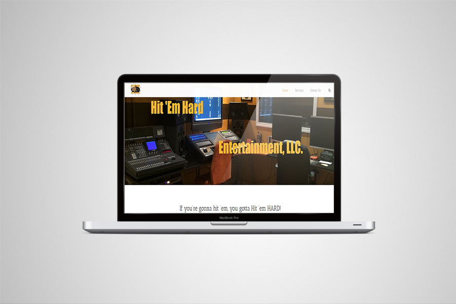 Hit Em Hard Entertainment Website