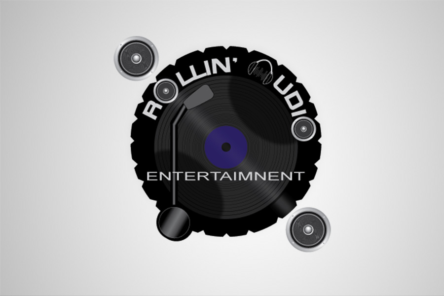 Logo for Rollin Audio Entertainment