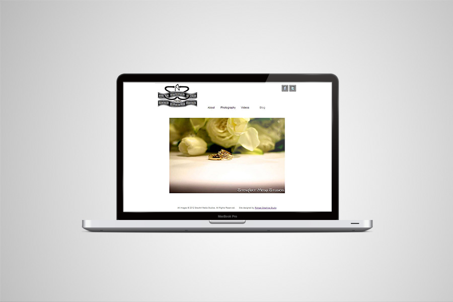 Website for StewArt Media Studios